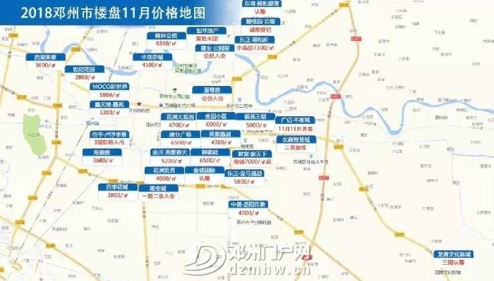 [邓州城事] 房价!邓州11月最新房价表新鲜出炉!